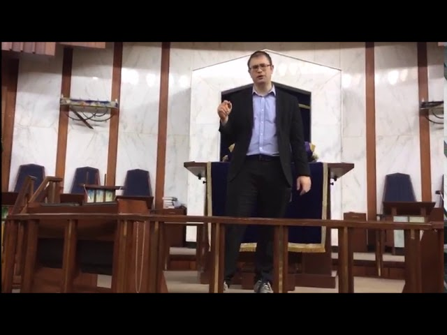 Passover Video Message from Rabbi Knopf - April 8, 2020