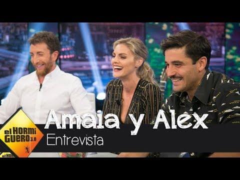 Álex García y Amaia Salamanca hablan sobre 'Tiempos de Guerra'  El Hormiguero 3.0