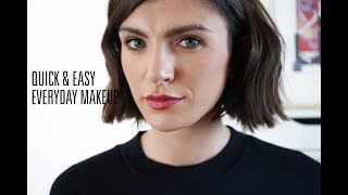 Quick & Easy Everyday Makeup  || The Very French Girl