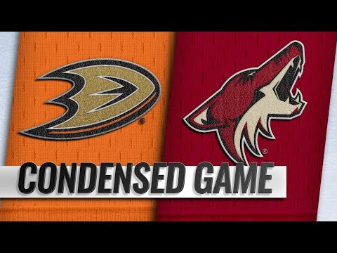10/06/18 Condensed Game: Ducks @ Coyotes