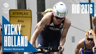 Rio Medal Moments: Vicky Holland claims triathlon bronze