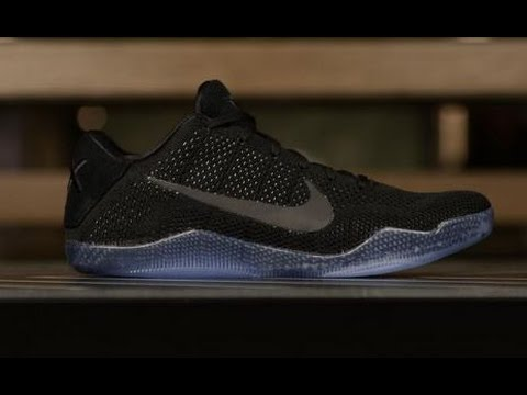 nike kobe 11 elite low black space