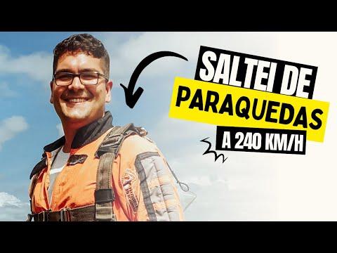 Salto de paraquedas em Resende RJ