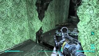 Fallout 4 прохождение боссов 17. Коготь смерти - хамелеон