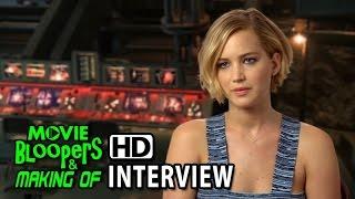 The Hunger Games: Mockingjay - Part 1 (2014) Interview - Jennifer Lawrence (Katniss Everdeen)