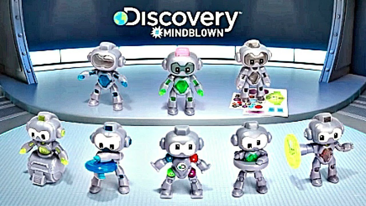 2019 Mcdonalds Discovery Robots Happy Meal Youtube