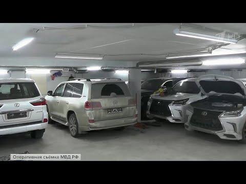 В Санкт-Петербурге задержали группу похитителей автомобилей премиум-класса.