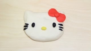 Play Doh | New How to Make Hello Kitty with Play Dough | Hello Kitty PlayDoh