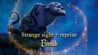 Strange sight + reprise - Finnish