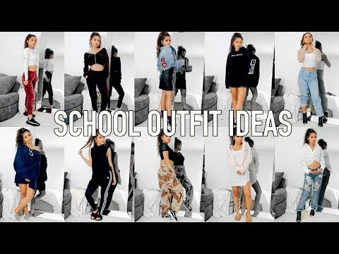 10 OUTFIT IDEAS FOR SCHOOL ♡ Back to School