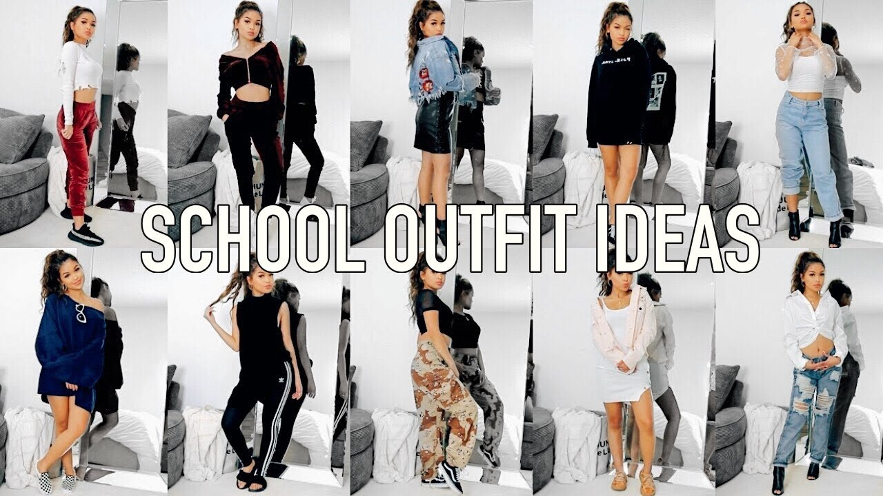 7e5419774c3 10 OUTFIT IDEAS FOR SCHOOL | Back to School - YouTube