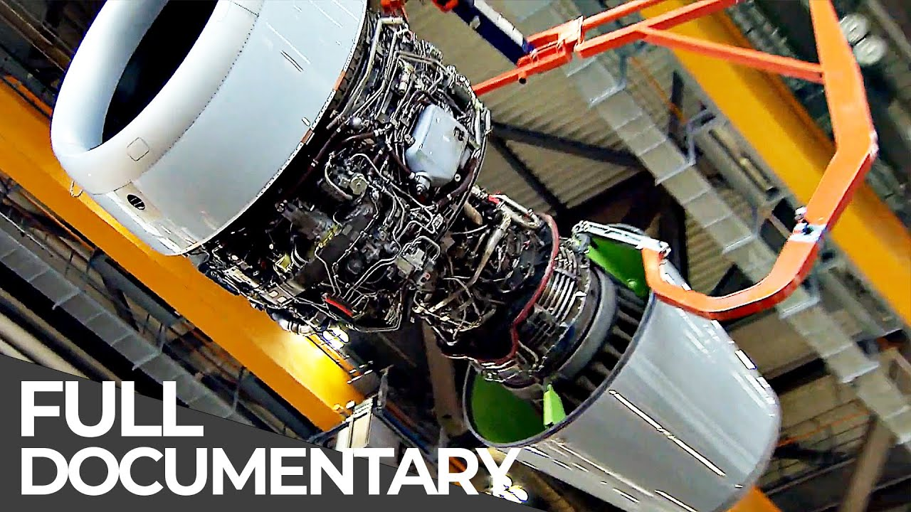 Heavy Airbus Maintenance, Aircraft Junkyard | Inside Airplanes | Free Documentary
