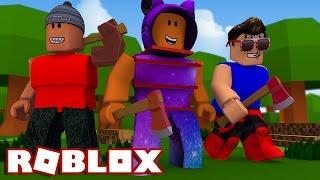 Roblox → EXPLORANDO A ATUALIZAÇÃO DE INVERNO !! - Roblox Lumber Tyc...