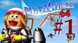 Re-Let's Play Pilot Wings 64 - Part 1 - Nur Fliegen ist schöner! [GERMAN]