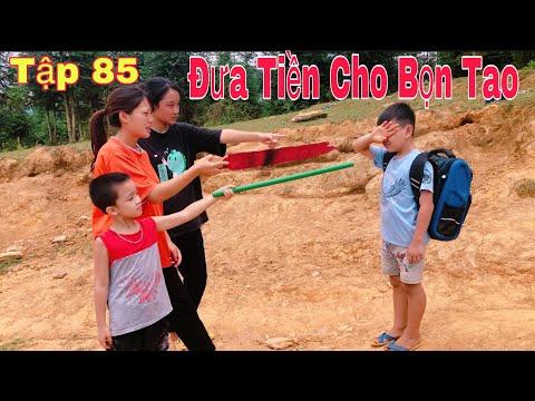 DTVN Vlog : (Tập 85) Bài học nhớ đời cho kẻ giám bắt nạt trẻ trâu ( ANH SẮN ĐI HỌC BỊ CHẶN ĐƯỜNG )