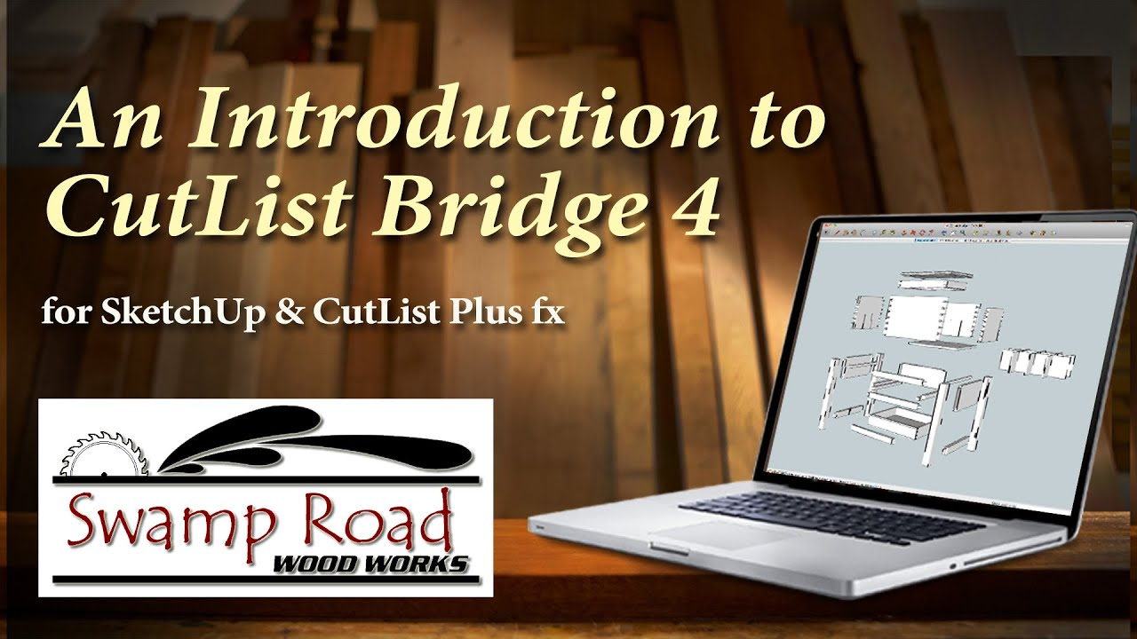Google Sketchup updates !: CutList Bridge 4 4 is available in