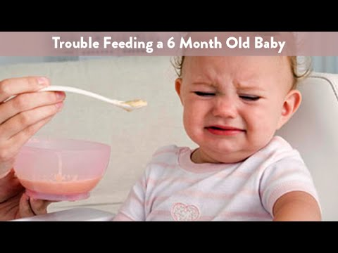 Trouble Feeding A 6 Month Old Baby Cloudmom Youtube