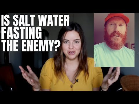 WATCH THIS BEFORE ADDING SALT TO YOUR WATER WHEN FASTING