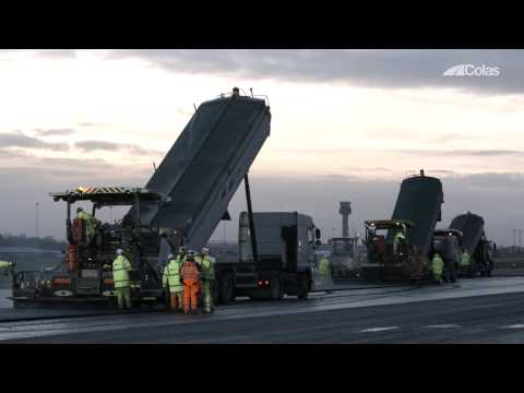 Colas Ltd at East Midlands Airport 2017
