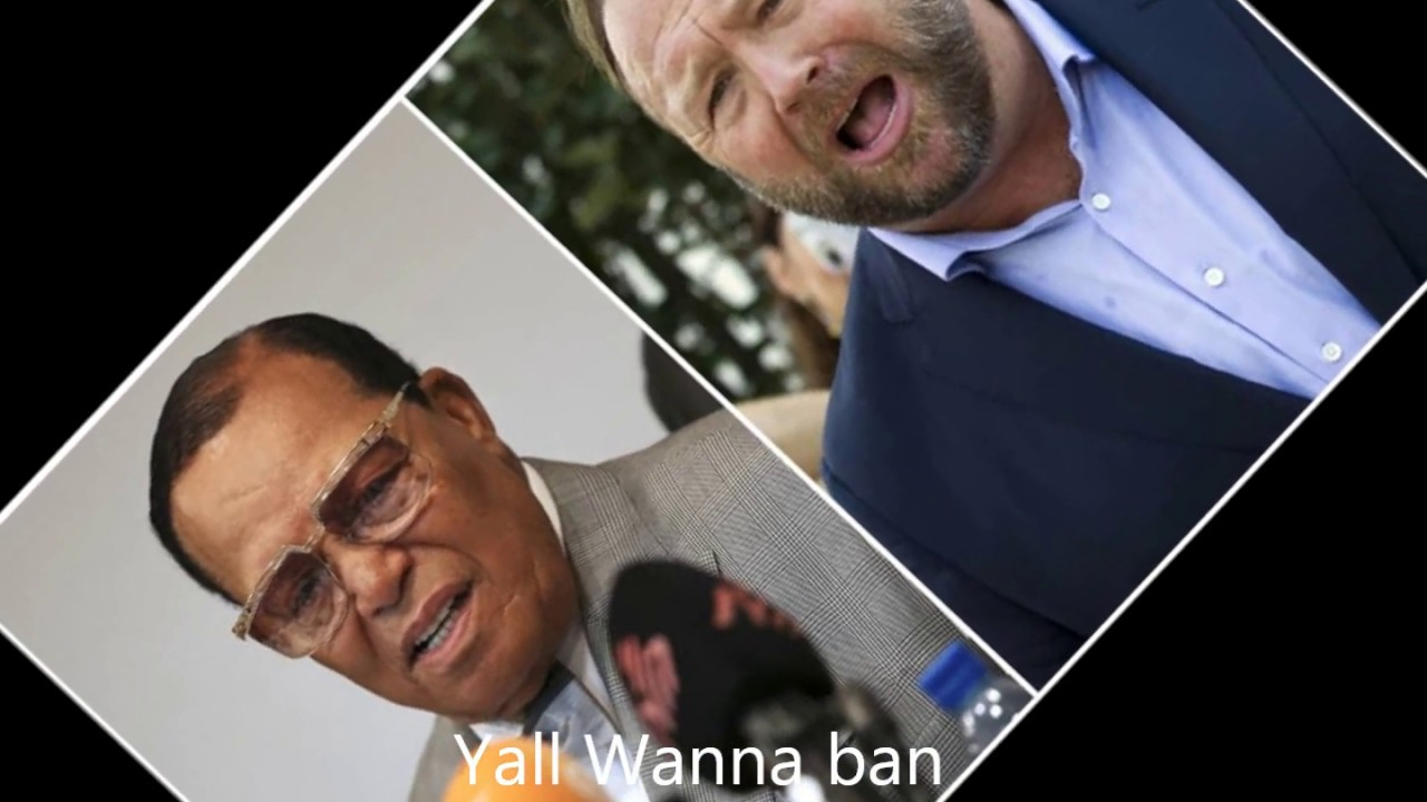 Facebook bans Farrakhan and Alex Jones but they don't ban degenerate behavior SMH