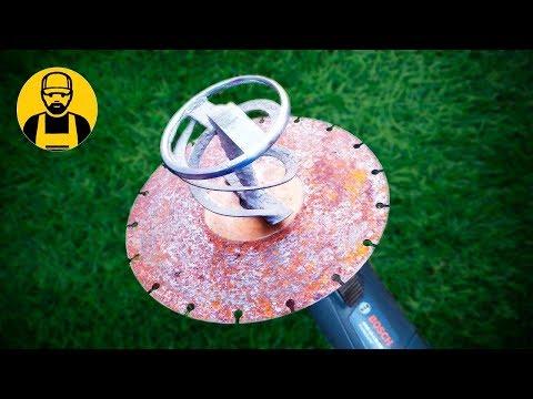 видео: Просто ШОК! Что можно сделать из старого алмазного диска!