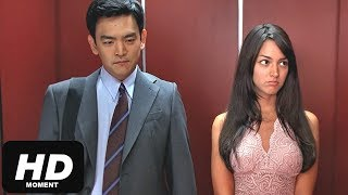 Знакомство в лифте-Смешной момент из фильма Гарольд и Кумар уходят в отрыв