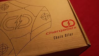 Unboxing Of Chargedex Part 1 | Chain oiler