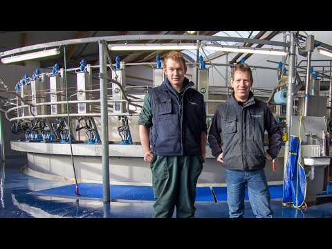 50 Point Rotary Milking Parlour [Netherlands]