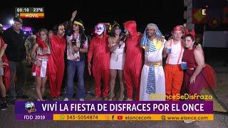Fiesta de Disfraces 2019!!! Mirá todos los disfrazados que pasaron por las cámaras de ELONCE!!!