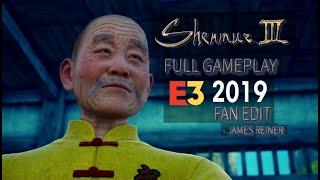 SHENMUE 3 - FULL E3 2019 GAMEPLAY + LOADING SCREENS + BGM | FAN EDIT | JAMES REINER