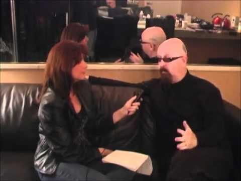 Frankie DiVita interviews Rob Halford, Part 2, at The Grove in Anaheim, CA, 12-19-10