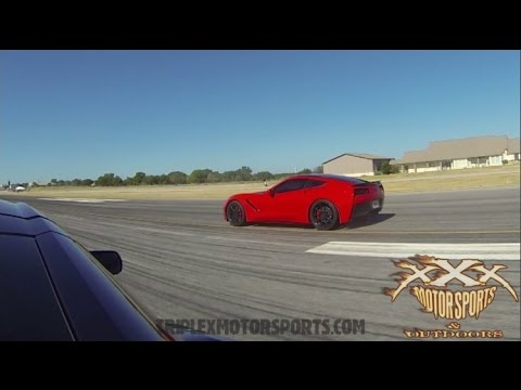 SUPERCHARGED C7 STINGRAY vs  THE WORLD!!
