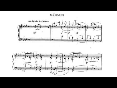 Rachmaninoff Romance Op.10 (Andante doloroso) P. Barton, piano