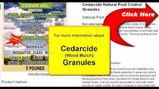 Cedarcide Wood Mulch Granules For Lawn & Garden Insect Control