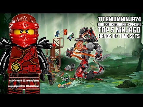 TitaniumNinja74 600 Subscriber Special: Top 5 Ninjago Hands of Time Sets