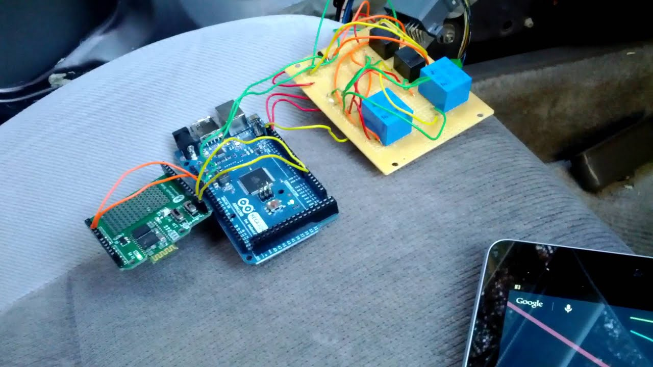 Android arduino car lock unlock youtube