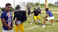 I TRIED TO COVER THE NFL'S BEST WIDE RECEIVER.. (1ON1'S AGAINST ANTONIO BROWN)