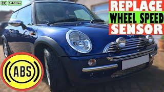 ABS Sensor Replacement Mini - How to replace Wheel Speed Sensor on Mini R50 R53