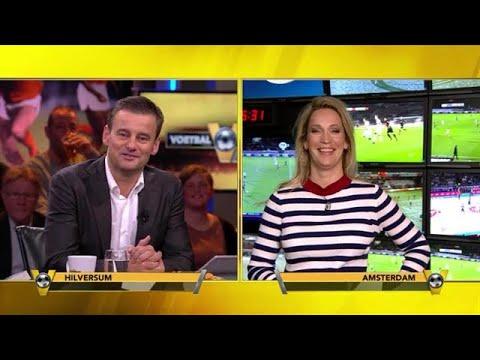 Gijp tegen Hélène Hendriks: ''Die trui ziet er niet uit man''- VOETBAL INSIDE