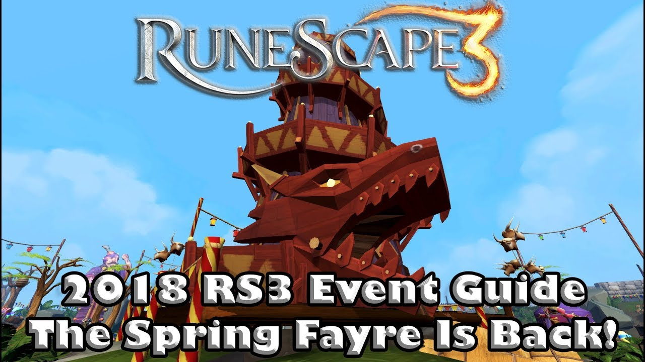Rs3 2018 Spring Fayre Event Guide