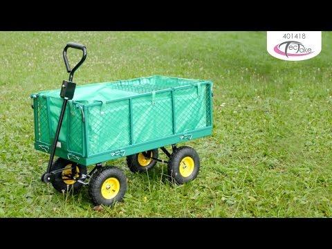 TecTake - equipment cart with cargo platform