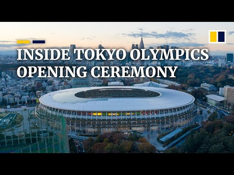 Inside the Tokyo 2020 Olympics opening ceremony