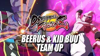BEERUS & KID BUU TEAM UP: DragonBall FighterZ Ranked Online (Beta Matches)
