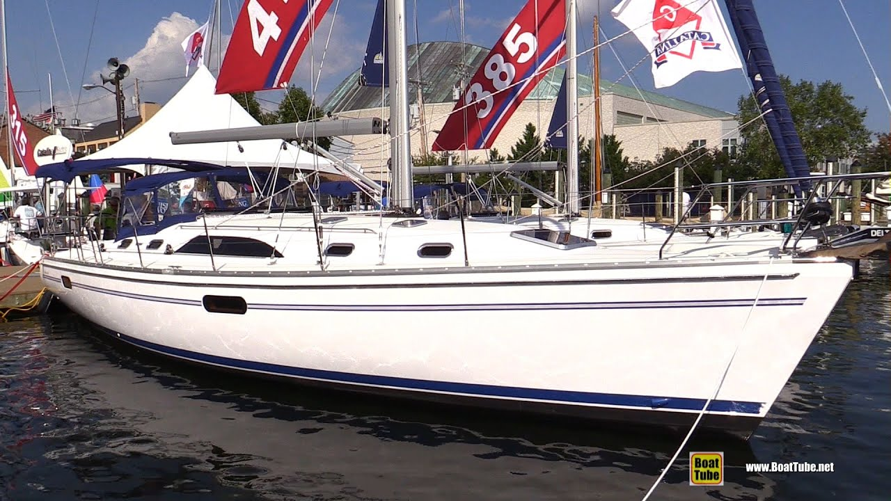 2015 Catalina 445 Sailing Yact - Deck and Interior Walkaround - 2015  Annapolis Sail Boat Show