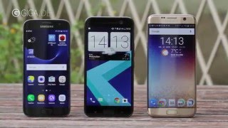 Samsung Galaxy S7 vs. HTC 10 im Vergleich - GIGA.DE