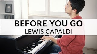 Lewis Capaldi - Before You Go | Piano Cover