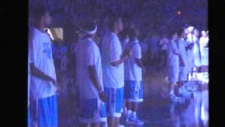 100 Years of Tarheel Basketball Introductions including Michael Jordan and Dean Smith