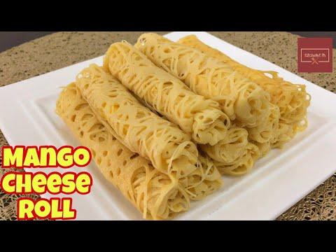 Mango Cheese Pancake Roll | KitcheNet Ph