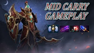 MID LANE CARRY SILENCER! | Dota 2 Gameplay Commentary