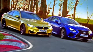 Which Is Quickest? BMW M4 vs Lexus RC F (3/3) - Fifth Gear